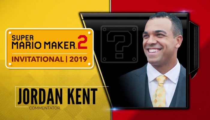 And here are the commentators for the Super Mario Maker 2 Invitational 2019