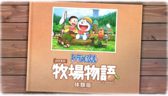 "Doraemon Story of Seasons – Japanese ""Free Trial"" Trailer"