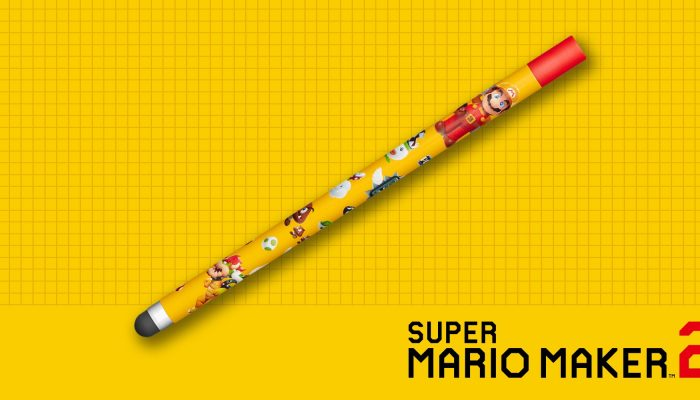 Super Mario Maker 2 pre-orders get a Nintendo Switch stylus