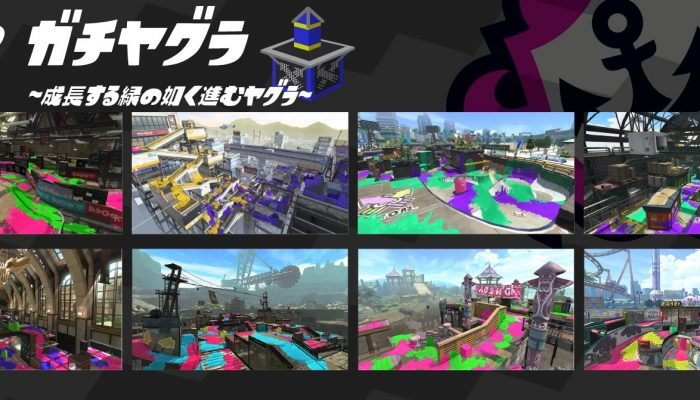 Here are the Ranked maps for May 2019 in Splatoon 2