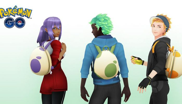 New spring-themed backpacks available in Pokémon Go