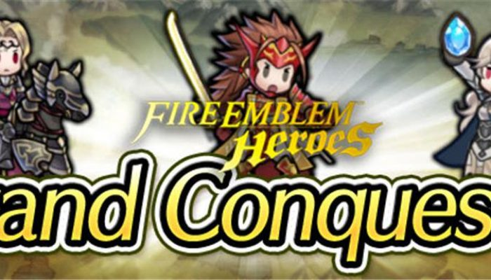 Xander, Ryoma and Corrin Grand Conquests in Fire Emblem Heroes