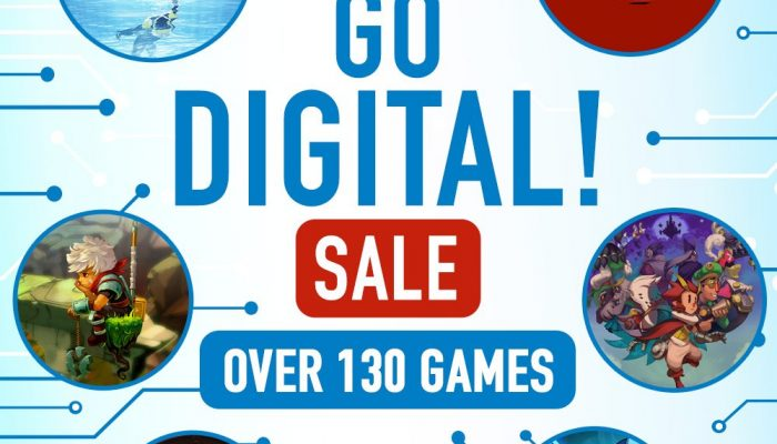 The Nintendo Switch Go Digital! Sale is on in Europe