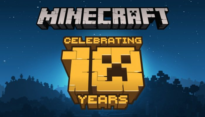 Minecraft celebrates its ten-year anniversary