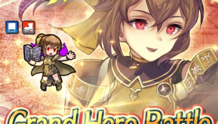 Delthea as a Grand Hero Battle in Fire Emblem Heroes