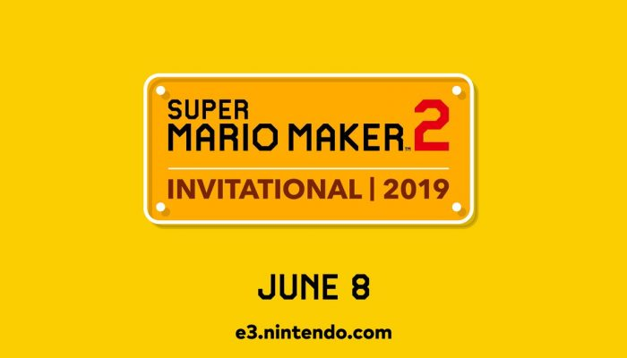 Super Mario Maker 2 Invitational 2019 announced for June 8