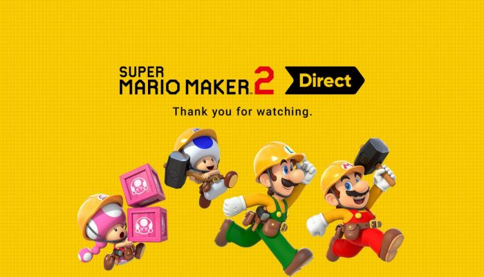 Super Mario Maker 2 is available for pre-purchase in Europe and North America