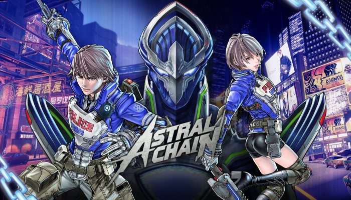Check out the latest artwork for Astral Chain