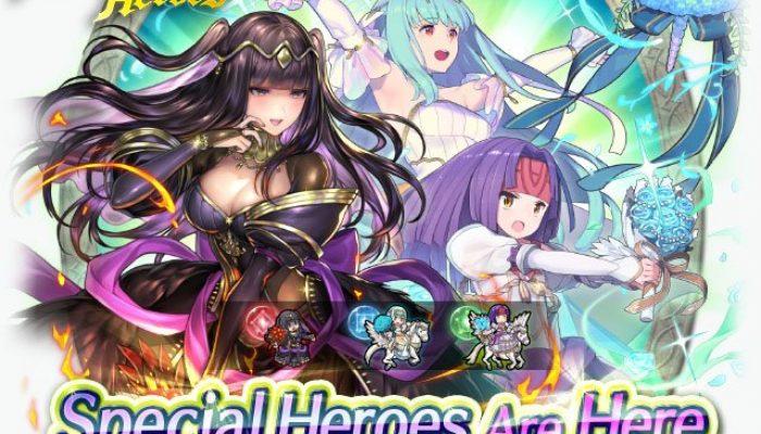 2018's bridal Special Heroes return in Fire Emblem Heroes