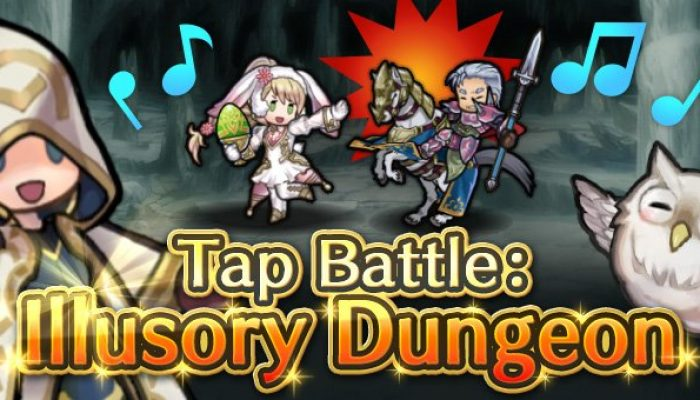 Tap Battle Illusory Dungeon Shadowed Memories returns in Fire Emblem Heroes