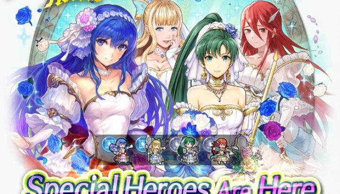 2017's bridal Special Heroes also return in Fire Emblem Heroes