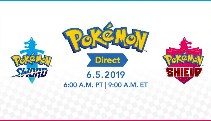 Pokémon Direct announced for June 5 at 6 am PT