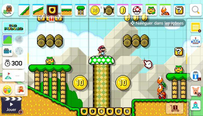 Nintendo France : 'Le Super Mario Maker 2 Direct a dévoilé de nouveaux éléments, de nouveaux modes de jeu et bien plus encore !'
