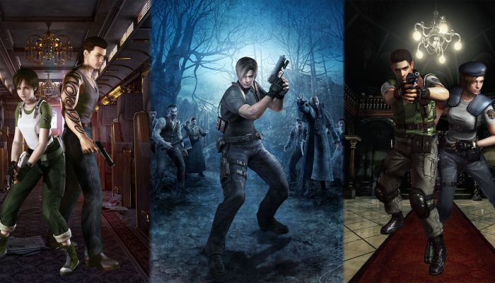 Capcom: 'Resident Evil 0, 1, and 4 are out now for Nintendo Switch'