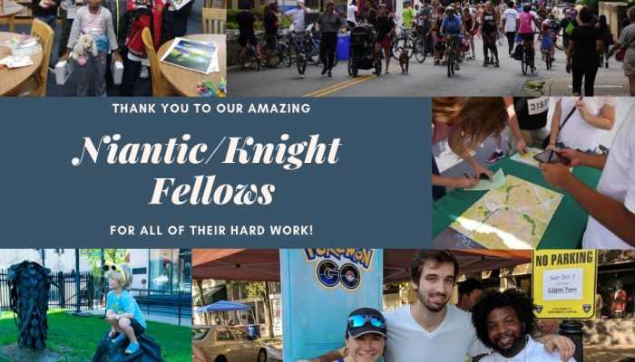 Niantic Labs: 'Strengthening Communities with our 2018 Niantic/Knight Fellows'