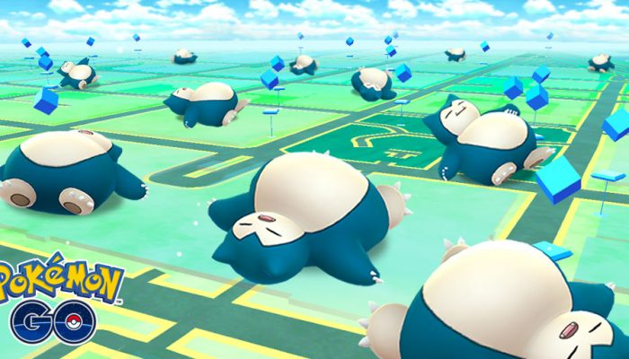 Niantic: 'Snoozing with Snorlax!'
