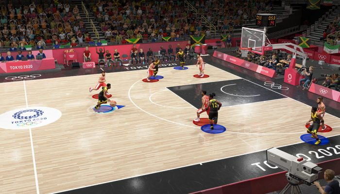 Olympic Games Tokyo 2020: The Official Video Game – Japanese Basketball and Table Tennis Screenshots