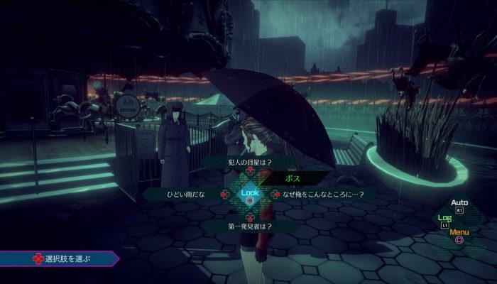 AI: The Somnium Files – Japanese Gameplay Screenshots