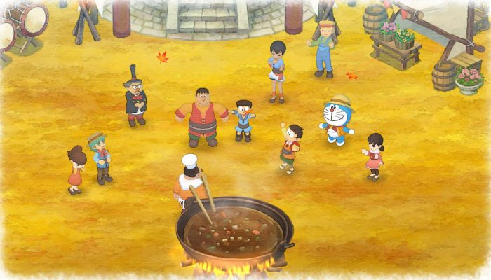 Doraemon Story of Seasons – Japanese Recipes and Characters Art and Screenshots