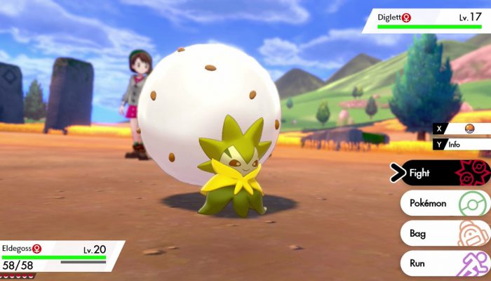 Pokémon Sword & Shield: 'Eldegoss'