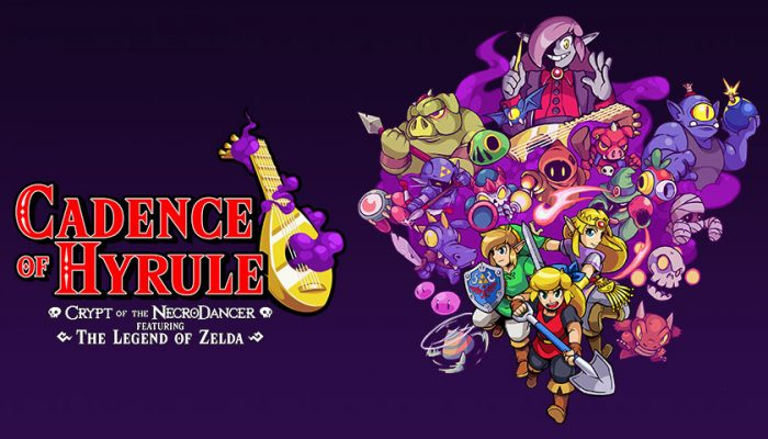 NoA: 'Feel that beat? Cadence of Hyrule ~ Crypt of the NecroDancer Featuring The Legend of Zelda ~ is available today!'