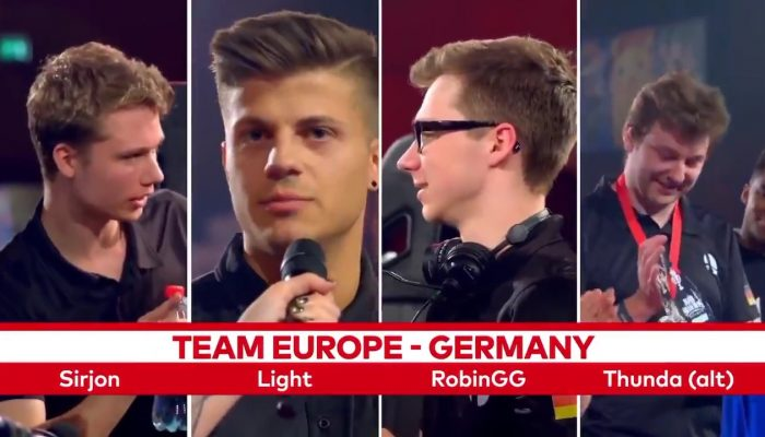 Nintendo Versus hypes Team Germany for the Super Smash Bros. Ultimate World Championship 2019