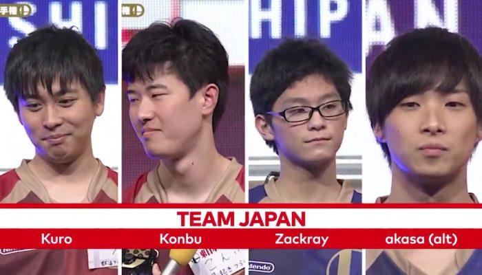Nintendo Versus hypes Team Japan for the Super Smash Bros. Ultimate World Championship 2019