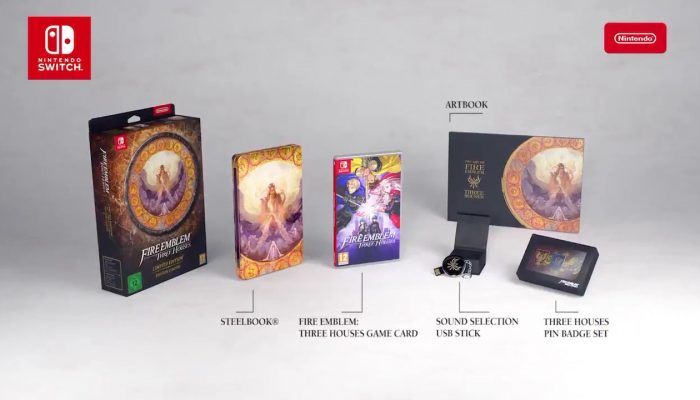 Check out the contents of the Fire Emblem Three Houses Limited Edition