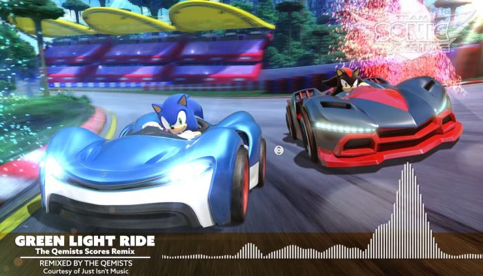 "Team Sonic Racing – ""Green Light Ride"" Remix OST"