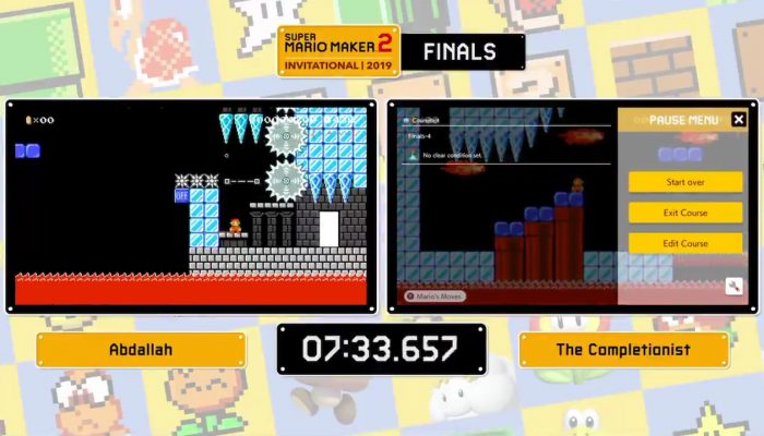 Abdallah wins the Super Mario Maker 2 Invitational 2019