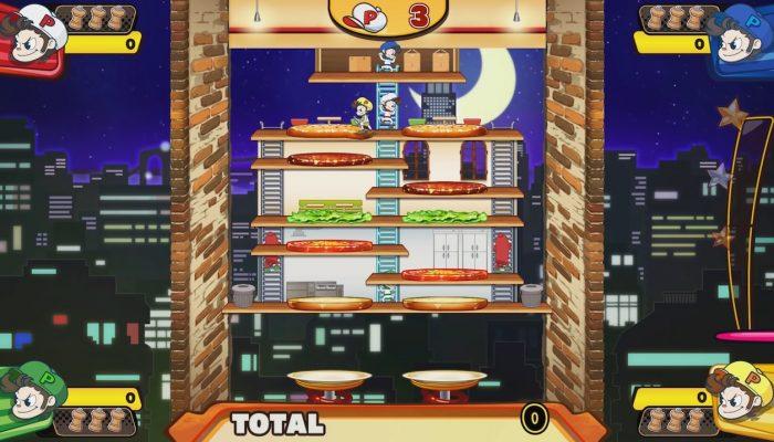 BurgerTime Party! – E3 Trailer