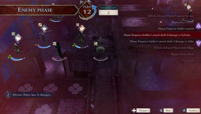 Fire Emblem Three Houses's Divine Pulse allows you to reverse your mistakes under limited conditions