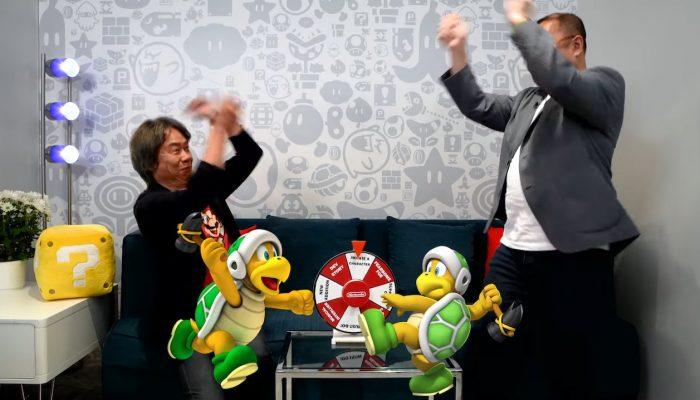 Mr. Miyamoto & Mr. Tezuka Spin the Wheel (Nintendo E3 2019)