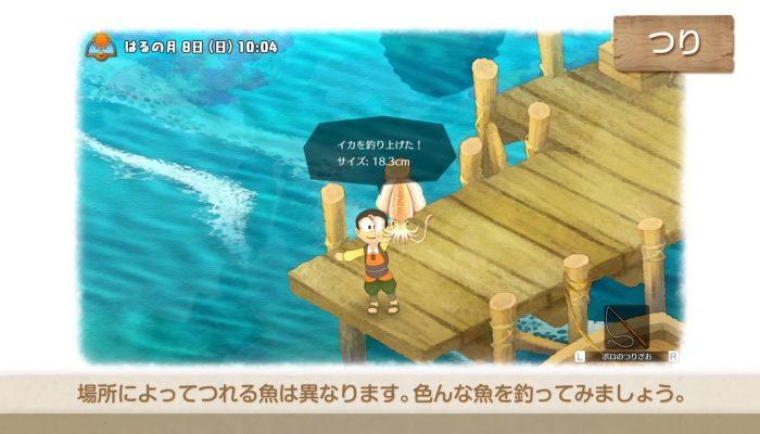 Doraemon Story of Seasons – Japanese Wildlife System Overview