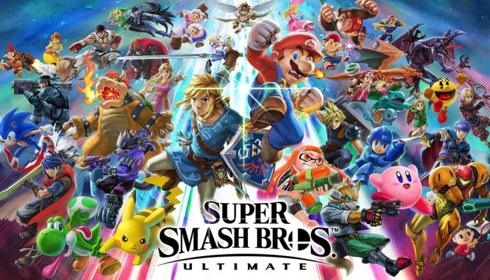 Super Smash Bros. Ultimate with a version 3.1.0 update