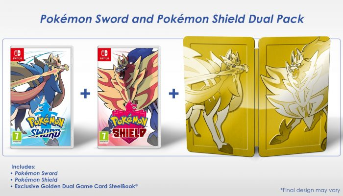 Pokémon Sword and Pokémon Shield get a Dual Pack at launch in Europe