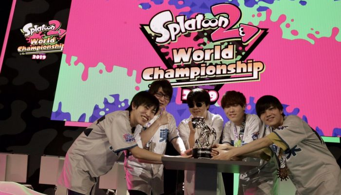 GG BoyZ wins the Splatoon 2 World Championship 2019