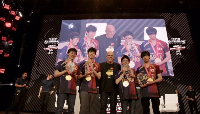 Team Japan wins the Super Smash Bros. Ultimate World Championship 2019