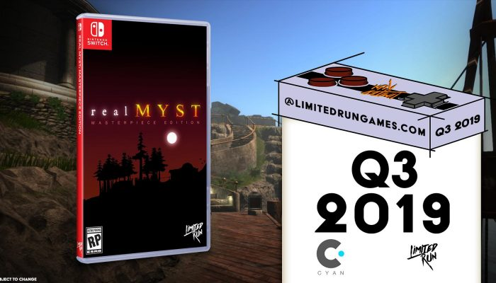 realMyst announced for Nintendo Switch