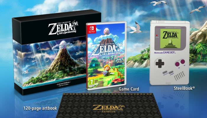 The Legend of Zelda Link's Awakening gets a Game Boy-themed limited edition in Europe