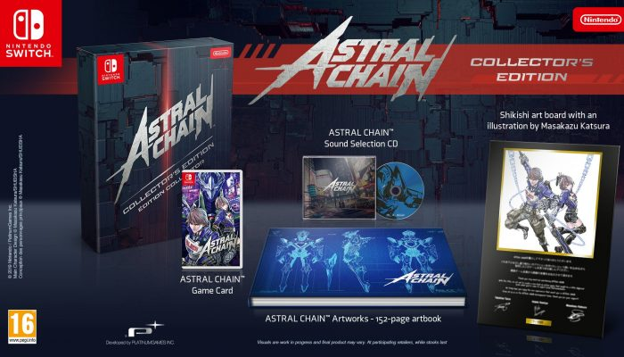 Astral Chain gets a collector's edition in Europe
