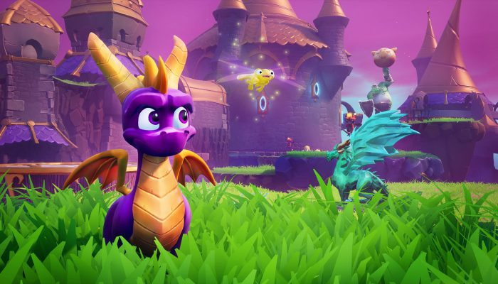 Activision: 'Rekindle the fire: Spyro Reignited Trilogy arrives on September 3 for Nintendo Switch and PC!'