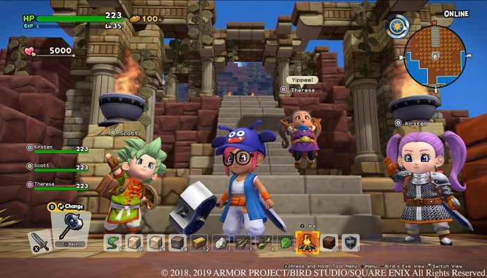 Dragon Quest Builders 2 gets a demo on Nintendo Switch eShop on June 27