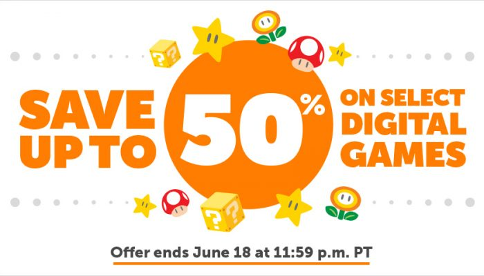 NoA: 'Save up to 50% on select digital games'