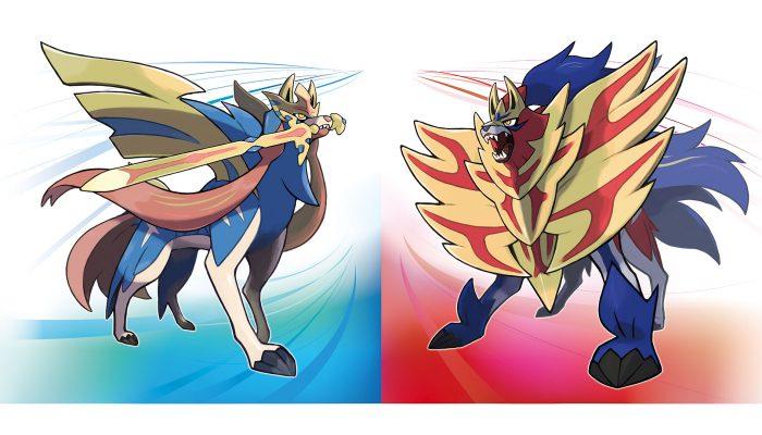 Pokémon Sword & Shield: 'The Legendary Pokémon Zacian and Zamazenta'