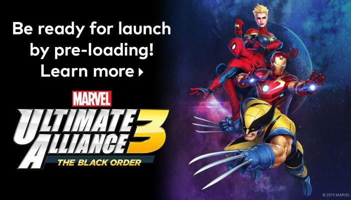 Nintendo E3 2019: 'Pre-purchase Marvel Ultimate Alliance 3: The Black Order today!'
