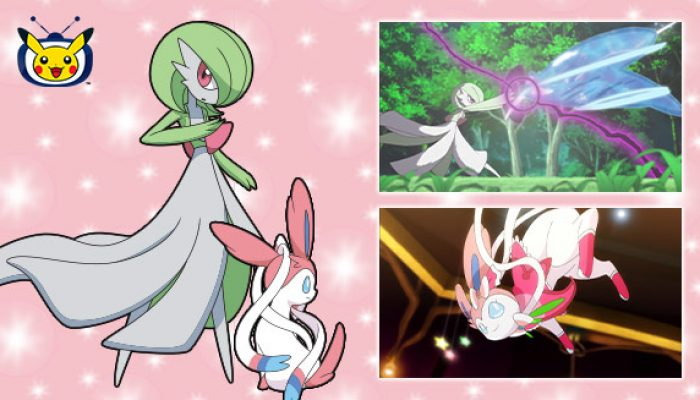 Pokémon: 'Watch Gardevoir and Sylveon in Pokémon the Series on Pokémon TV'