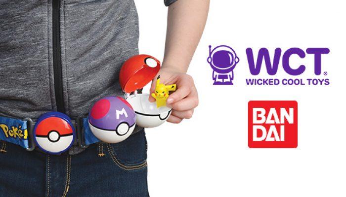 Pokémon : 'De nouveaux jouets Poké Balls et figurines Pokémon proposés par Wicked Cool Toys'