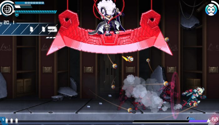 Gunvolt Chronicles: Luminous Avenger iX – Japanese Riberio and Kurimu Enemy Art and Screenshots