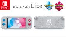 Nintendo Switch Lite Zacian and Zamazenta Edition